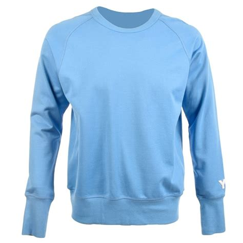 light blue adidas sweatshirt adidas y 3 y 3 by adidas blue sweatshirt jumper adidas y