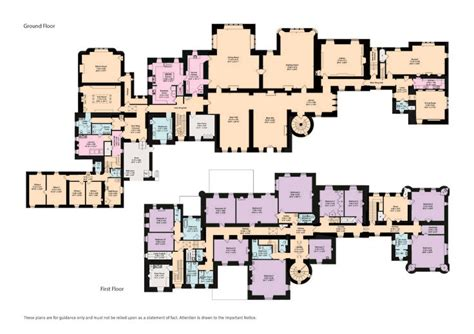 3 Bedroom Apartment Floor Plans by Ayton Castle Floor Plans Castles Palaces Pinterest House