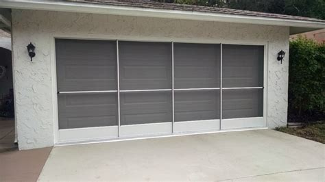 Florida Garage Doors Garage Sliding Screen Door Installation In River Florida Garage Screen Door
