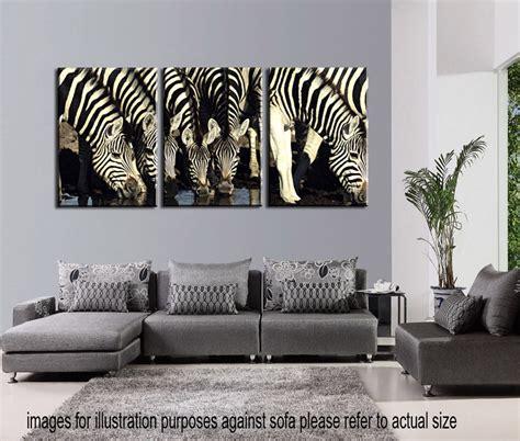 not framed canvas prints home decor wall art pictures 4pc not framed canvas print animal zebra home decor modern