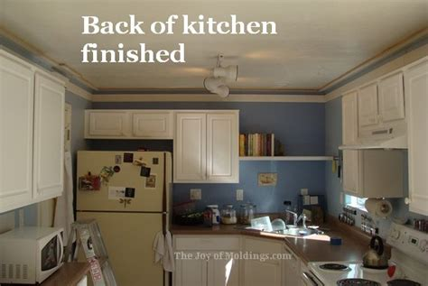 How To Fit Kitchen Cornice kitchen crown molding installation cornice molding the of moldings