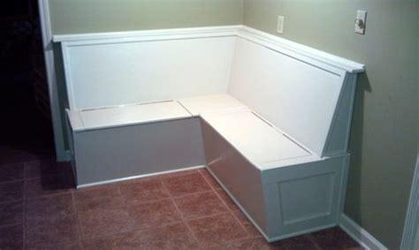 handmade built  kitchen bench banquette seating