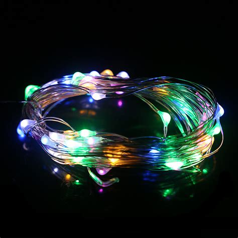 3m led battery powered string wire light l