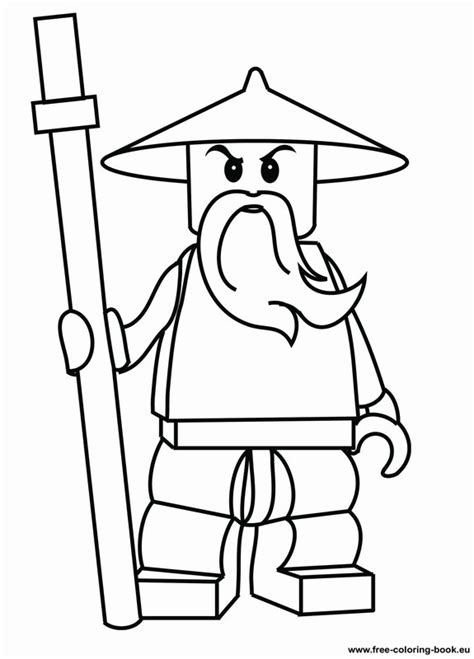 printable coloring pages ninja free coloring pages of all lego ninjago