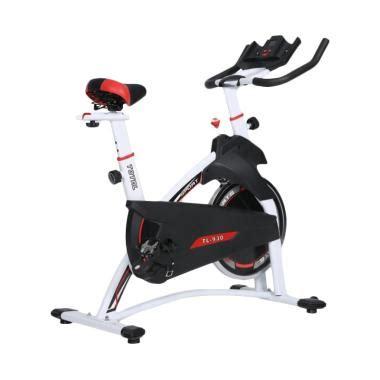 Spinning Bike Kuning Total Fitnes jual sepeda statis berkualitas harga murah blibli