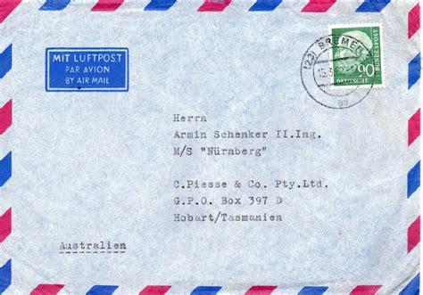 Brief Schweiz Nach Australien Brief Nach Australien B 252 Rozubeh 246 R