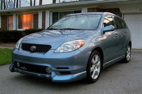 Toyota Matrix Xrs 2003 Coal 2003 Toyota Matrix Xrs The Blue Pill