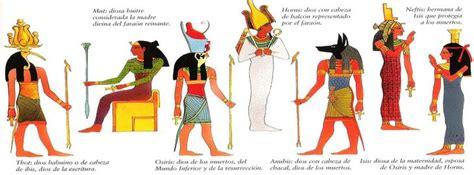 imagenes de divinidades egipcias 3primariacono egipto