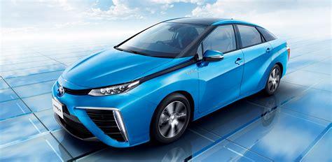 Toyota Hydrogen Auto Buzz Toyota Mirai Hydrogen Fuel Cell Vehicle