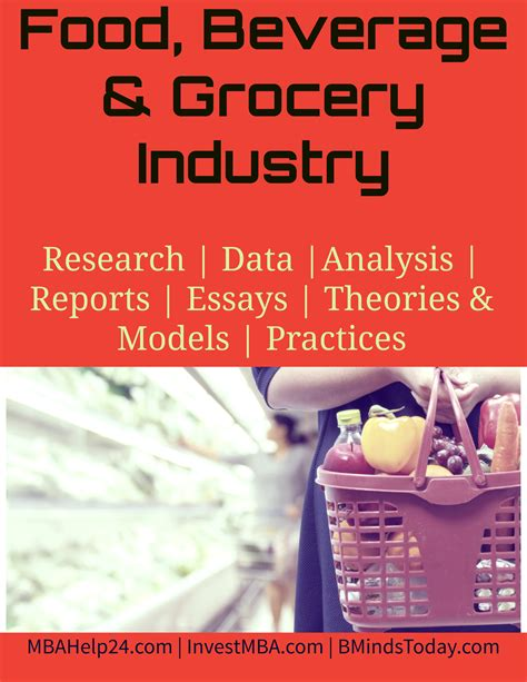 Mba In Food Business Management by Food Beverage Grocery Industry Mba Retail Management