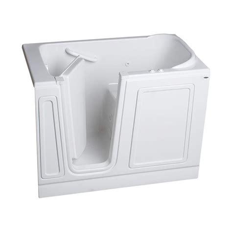 american standard walk in bathtub american standard acrylic standard series 51 in x 30 in