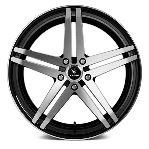 with wheels verde 174 parallax wheels gloss black with machined