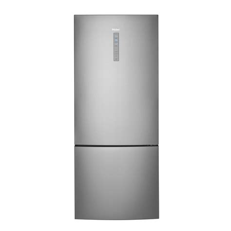 Freezer Haier Hrb15n3bgs Haier Appliance 15 0 Bottom Mount Refrigerator Stainless Steel Airport Home