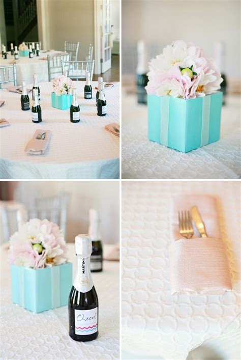 gift box bouquet centerpiece centerpieces pinterest