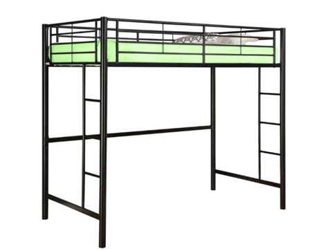 lofted bed frame loft bed frame whereibuyit com
