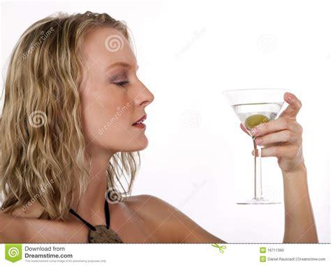 martini woman martini drink royalty free stock photography