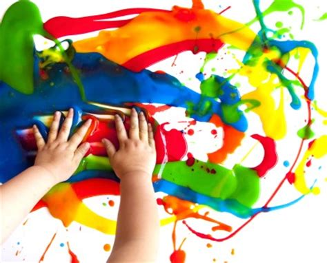 painting toddlers paint center arts and easy craft ideas