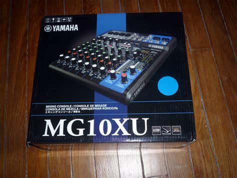 Mixer Yamaha Mg 10 Xu yamaha mg10xu image 961118 audiofanzine