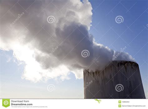 Smoke Comes Out Of Fireplace by Steam Or Smoke Coming Out Of A Chimney Stock Images