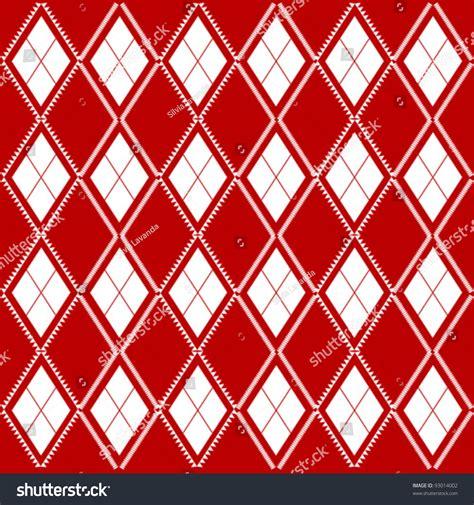 diagonal seamless pattern as tartan plaid vector image seamless background of diagonal red plaid pattern stock