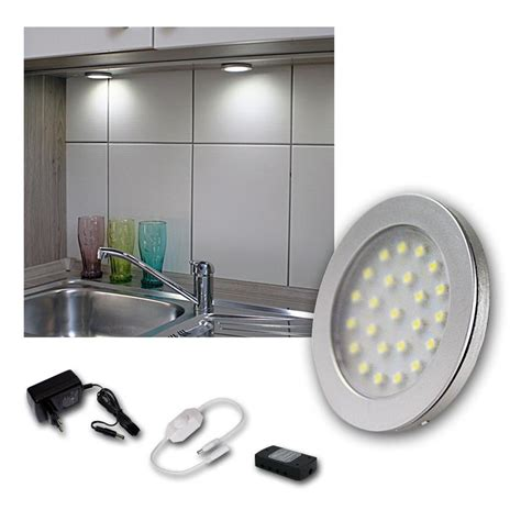 kitchen cabinet led lighting kits kit set led cabinet lights spotlights kitchen and furniture light shelf ebay
