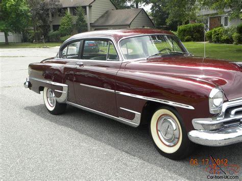 chrysler 2 door 1954 chrysler new yorker deluxe 2 door sedan