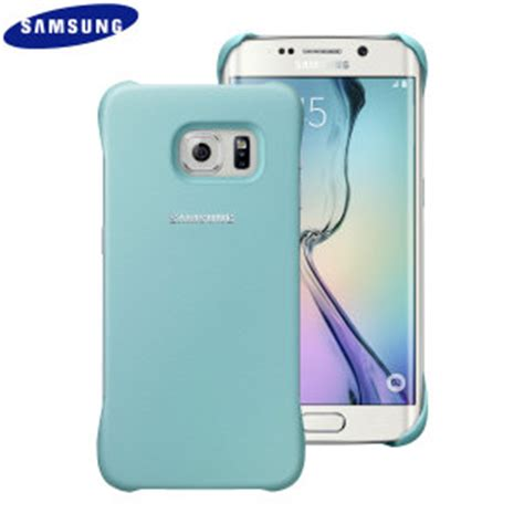 official samsung galaxy s6 edge protective cover mint
