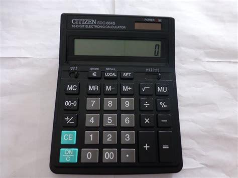 Citizen Kalkulator Sdc 664s jual beli kalkulator citizen sdc 664s asli dan bergaransi