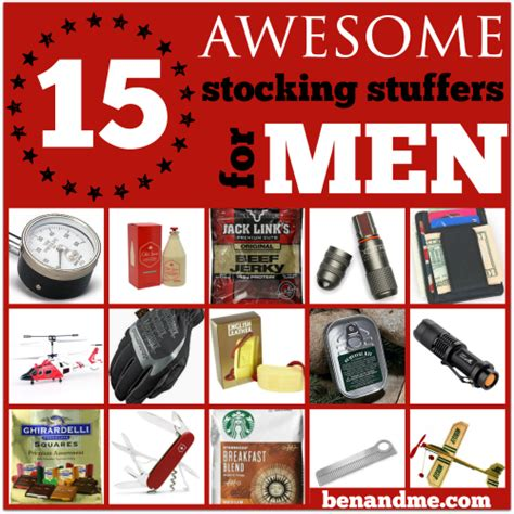 15 Awesome Stocking Stuffers for Men   Ben and Me