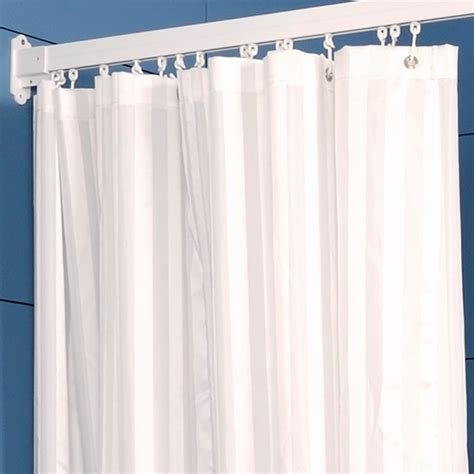 striped shower curtain striped shower curtains shop polyester multicolor