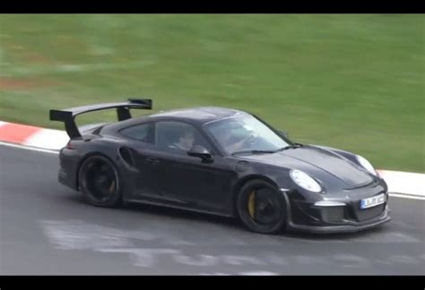 porsche prototype 2015 2015 porsche 911 gt3 rs spotted sounds angry