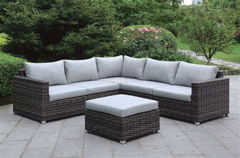 lavana cm os patio sectional sofa wottoman