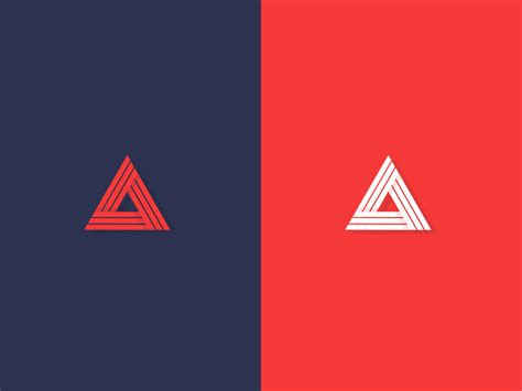 triangle pattern logo 28 creative triangle logo designs ideas design trends
