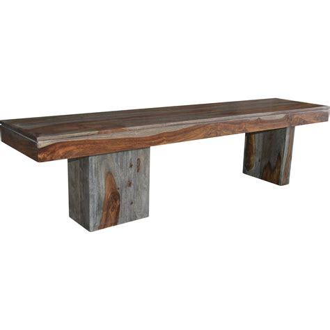 low wooden bench coast to coast imports wooden bench reviews wayfair