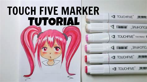 Touch Five Marker cheap copic alternative touch five marker tutorial how