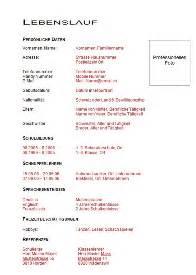 Lebenslauf Vorlage Lehrling Muster Lebenslauf Word Muster Lebenslauf Lehrstelle