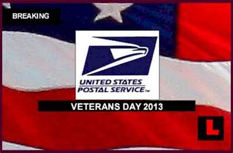 Is The Post Office Open On Veterans Day by Holidays