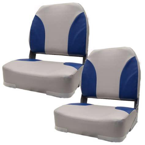 light blue boat seats classic light gray blue low back vinyl boat folding seat