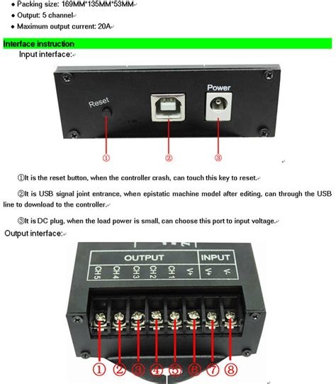 led light controller dc5 24v usb led controller tc420 led time controller