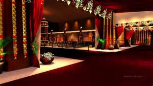 3d Wedding 3d wedding set design walk through youtube