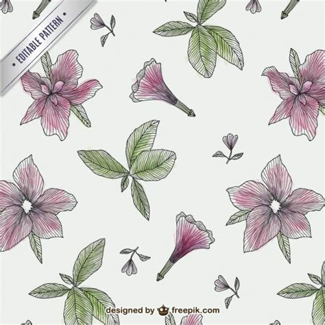 flower pattern freepik vintage flowers pattern vector free download