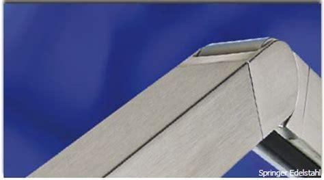 geländerteile edelstahl vierkant systeme