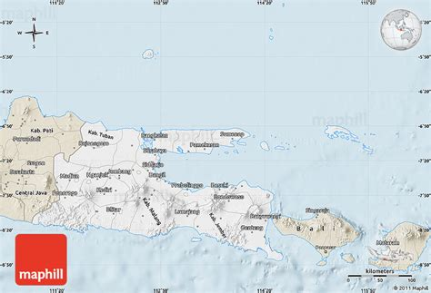 java layout east west classic style map of east java