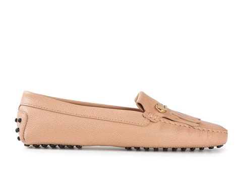 light pink loafers tod s s gommino loafers driving moccasins in light