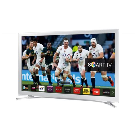samsung 32 quot smart flat hd ready led tv white samsung from powerhouse je uk