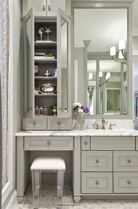 bathroom cabinet with makeup vanity best 25 bathroom vanities ideas on bathroom