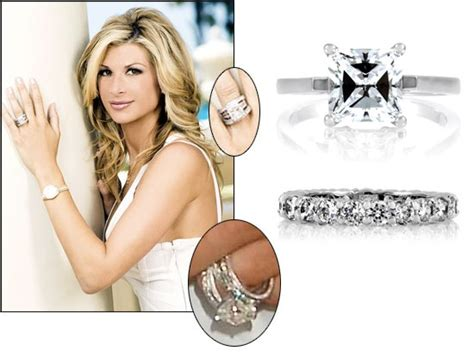 what earrings do the real houses wifes of beverly hills wear celebrity style jewelry alexis bellino s engagement ring