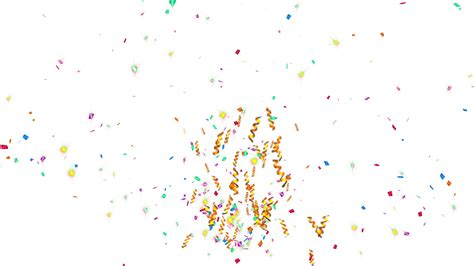 after effects free template bullet shoots 2 animation of shooting colorful confetti paper twisted