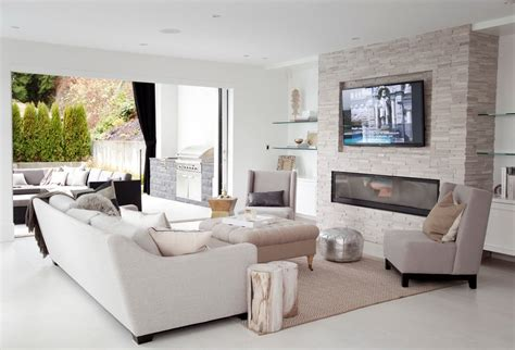 Electric Fireplace Vancouver by Vancouver Electric Fireplace Living Room