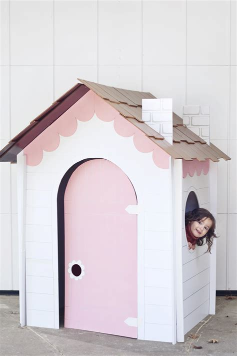 Easy Crafts For Home Decor by Make A Collapsible Playhouse A Beautiful Mess